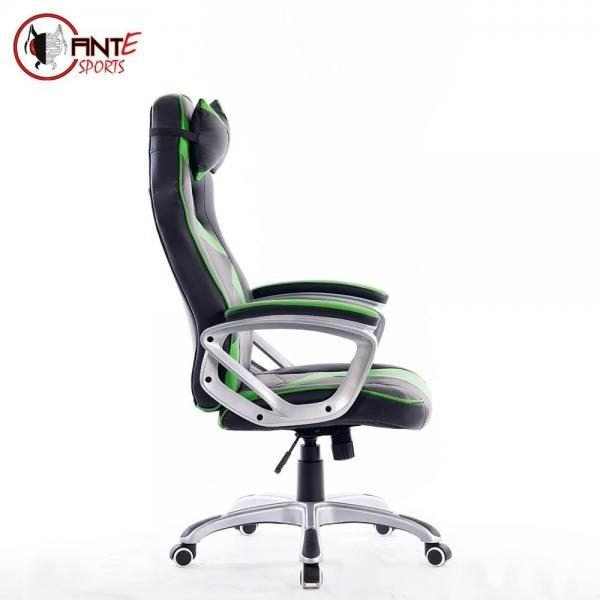 Swell Ant Esports 8077 Black Green Gaming Chair Caraccident5 Cool Chair Designs And Ideas Caraccident5Info